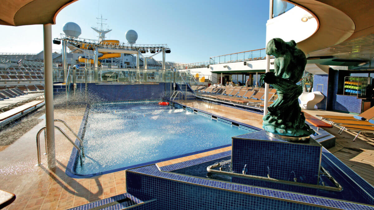 Costa Fortuna - Pooldeck