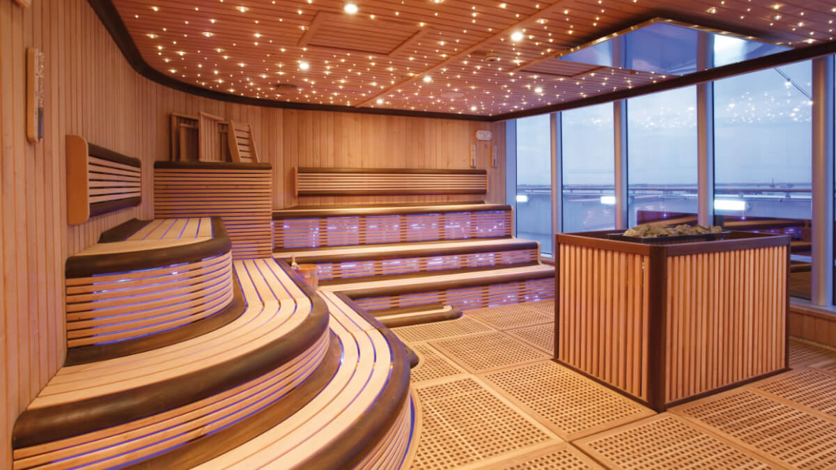 Costa Luminosa - Samsara Spa Sauna