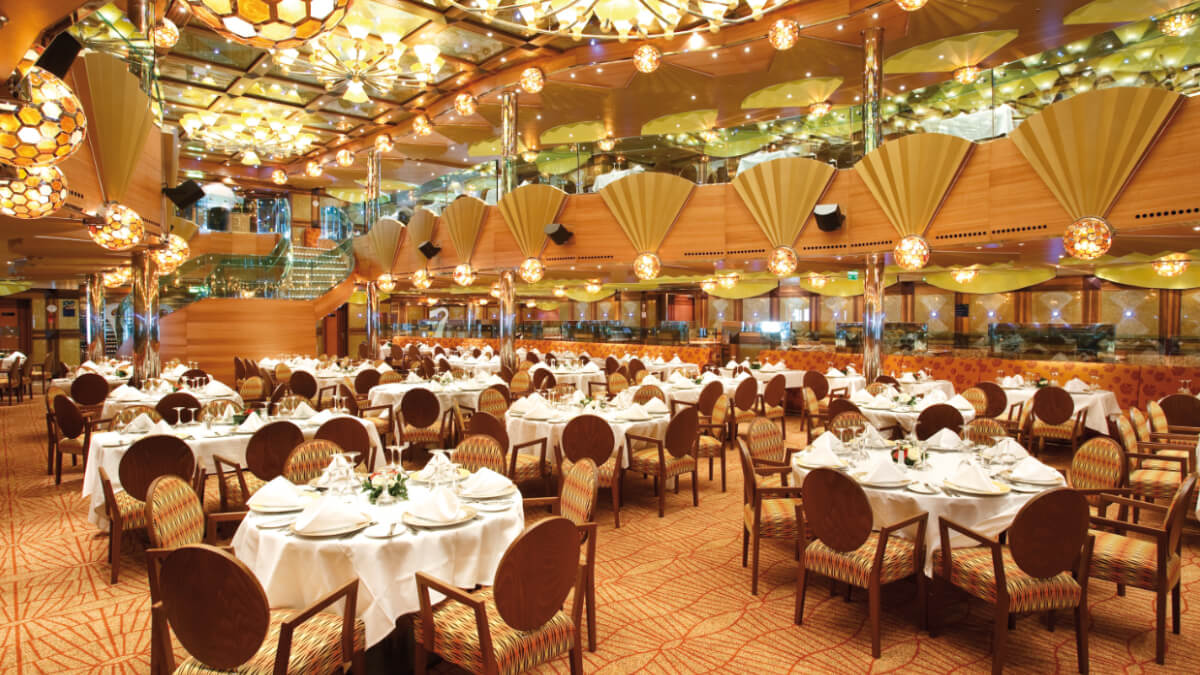 Costa Luminosa - Taurus Restaurant