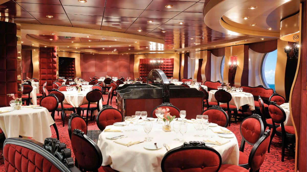 MSC Fantasia - Restaurant Red Velvet