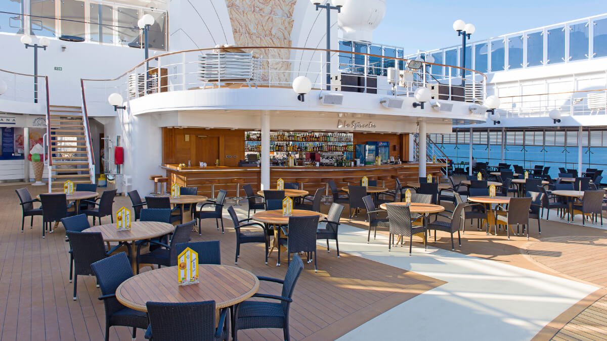 MSC Opera - Lo Spinnaker Poolbar