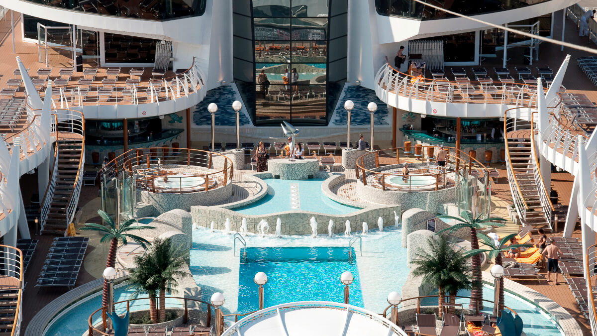 MSC Splendida - Pooldeck