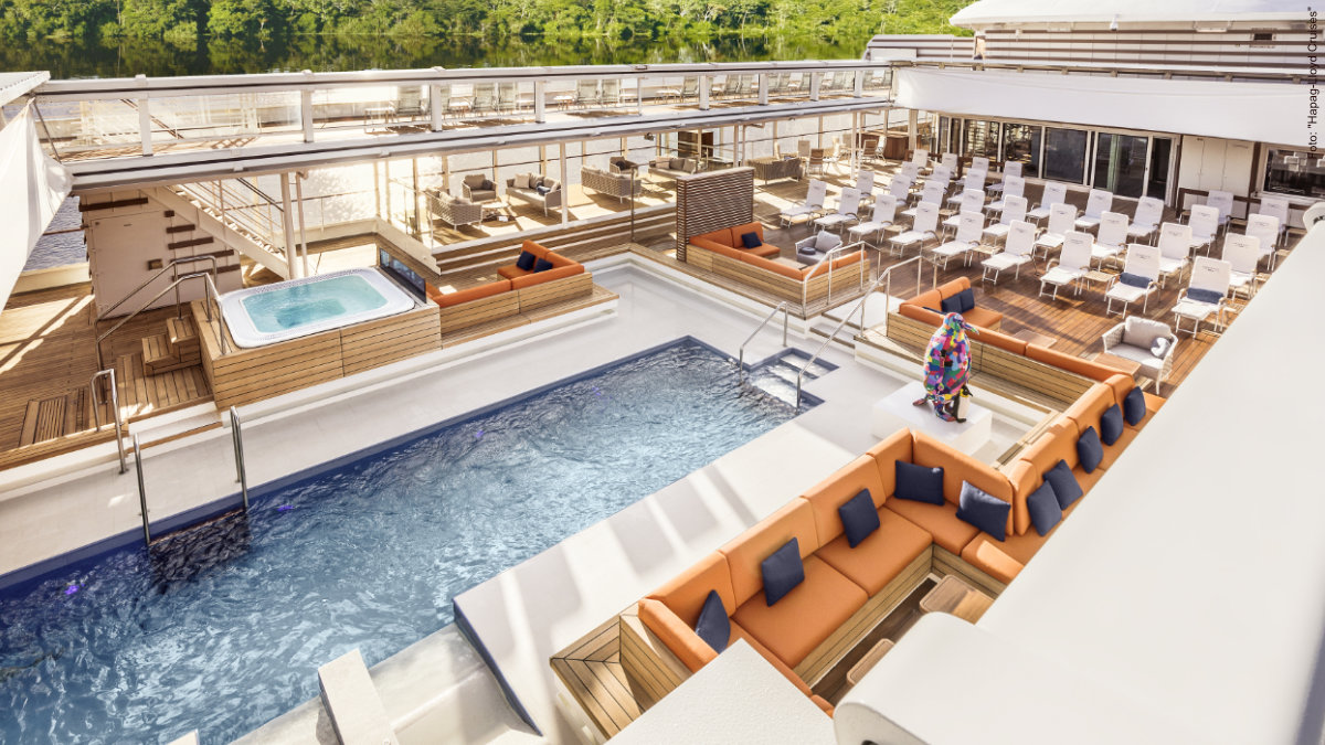 HANSEATIC inspiration - Pooldeck