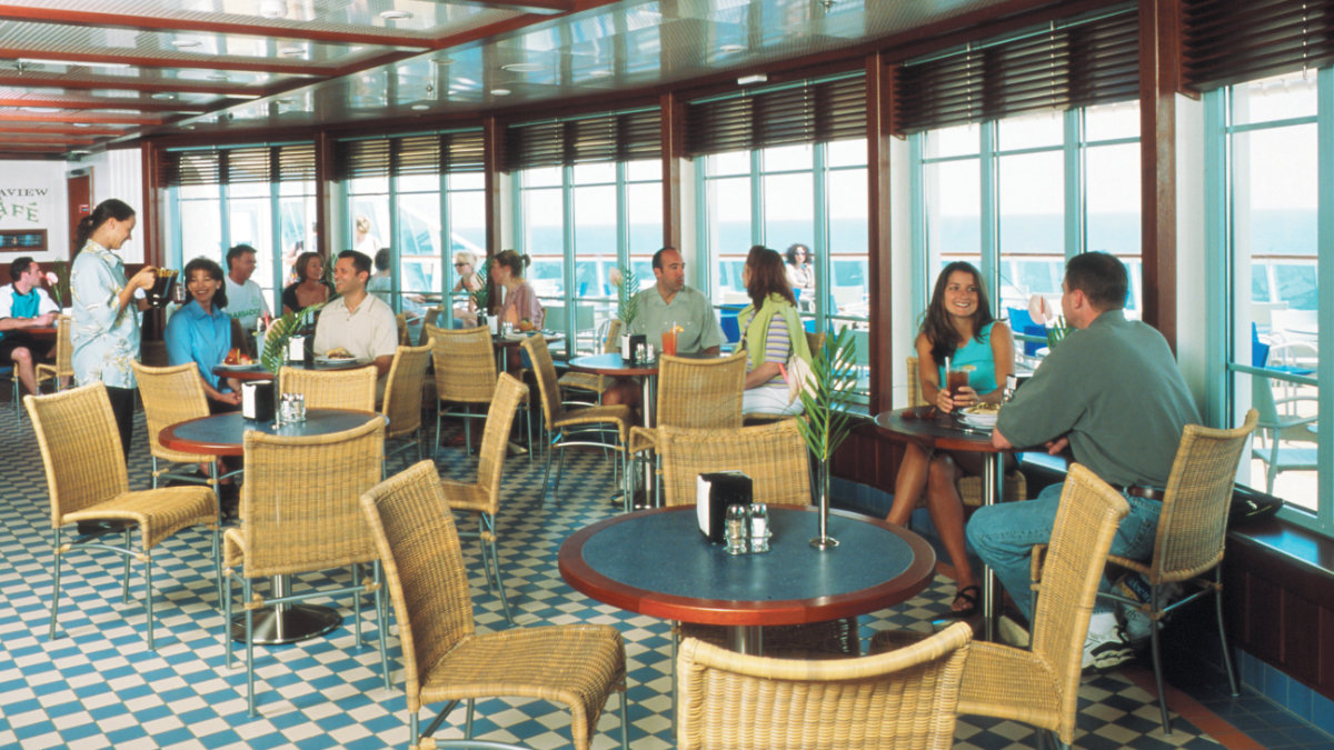 Brilliance Of The Seas - Seaview Cafe