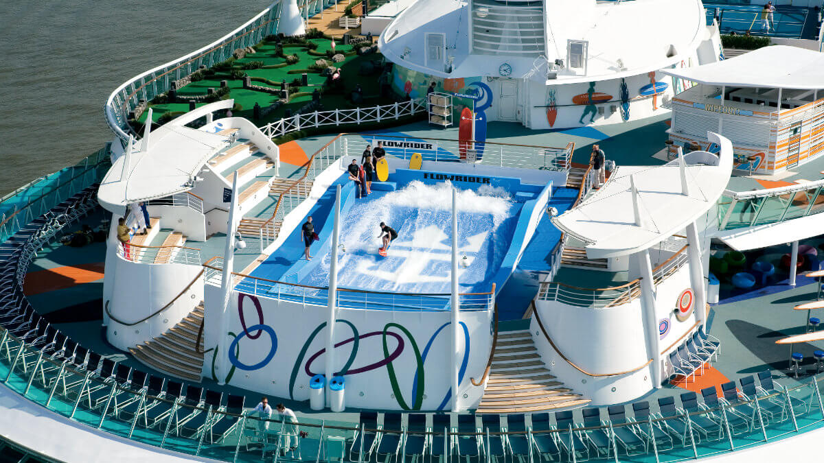 Freedom Of The Seas - Flowrider