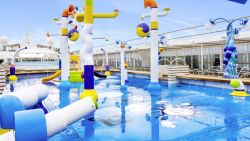 MSC Sinfonia - SprayPark Kinderpool