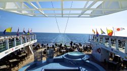 MS Ocean Majesty - Pooldeck Achtern
