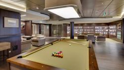 MSC Seaside - Billiard Room