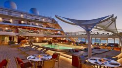 Seabourn Encore - Pooldeck