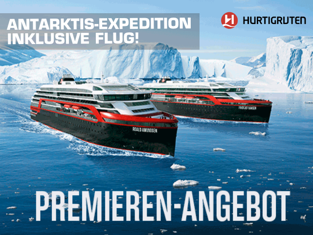 Antarktis-Expedition Premieren-Angebot