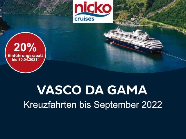 NICKO CRUISES - VASCO DA GAMA