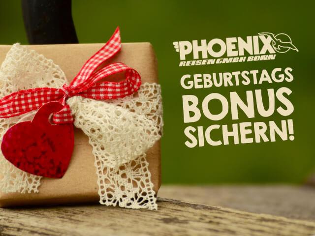 Phoenix Geburtstagsbonus