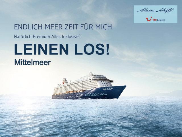 Mein Schiff - Große Freiheit Mittelmeer